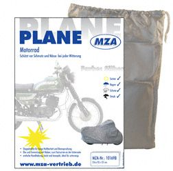 Abdeckplane, Faltgarage, Plane MOTORRD (IWL, ETZ) 216x92x131 cm