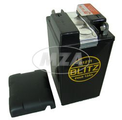 Batterie 6V 12Ah IWL mit Deckel ( Füllmenge 150ml pro Kammer, Bleiakku ) ( 01211 )