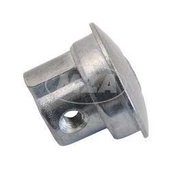 Abschlußstopfen f.rechtes Lenkerende, Griff (Aluminium) Pilz IWL Pitty, Wiesel SR56, Berlin SR59