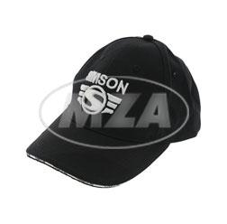 Basecap, schwarz - mit SIMSON-3D-Logo in silber