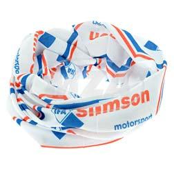 """Schlauchtuch """"""""IFA SIMSON motorsport"""""""" - blau/rot/weiß"""