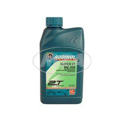 ADDINOL MZ406 SUPER, 2-Takt-Motorenöl, raucharm, low smoke, teilsynthetisch, 1 L Dose