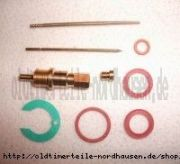 Vergaser Reparatursatz Flachschieber IWL Pitty, Wiesel,MZ RT 125/1/2 ( 85HD)