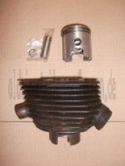 Zylinder/Kolben mit 15mm Kolbenbolzen komplett  IWL Wiesel regeneriert im Austausch RT 125/1