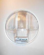 Scheinwerferglas / Streuscheibe IWL D=130mm  für Reflektor original DDR