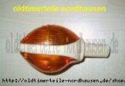Lenkerblinkleuchte (alte Ausführung/Ochsenauge)mit E-Prüfzeichen IWL, MZ, Superelastik, Blinker