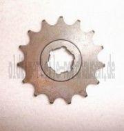 Kettenrad am Getriebe / Ritzel 15 Zahn IWL