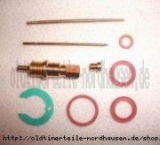 Reparatursatz für Vergaser (Flachschieber NB20) IWL Pitty, Wiesel SR56
