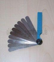 Abstandslehren 0,10 - 1,00mm (10 Blaetter + Huelle)