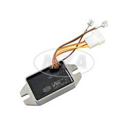 Powerdynamo Regler / Spannungsregler 12V  IWL elektronischer Regler Pitty, Wiesel SR56, Berlin SR59, Troll,
