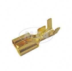 Flachsteckhülse 6,3 DIN 46247- Kabelschuh  für Kabel 1,5-2,5
