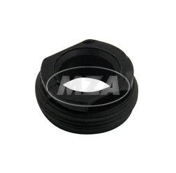 Ringmutter schwarz für Benzinhahn EHR original Optik