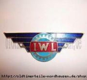 """Plakette """"IWL"""" gerade, ungewölbt,  Campi"""