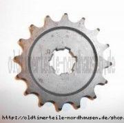 Kettenrad am Getriebe / Ritzel 16 Zahn IWL