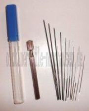 Düsenreibahlenset 12-teilig (0,60 - 1,90mm) (mit Kunstoffbox) IWL, MZ, Simson