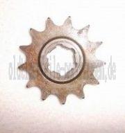 Kettenrad am Getriebe / Ritzel 13 Zahn IWL